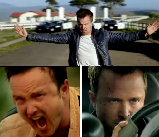 Aaron Paul (aka Jesse Pinkman) stars in Need For Speed